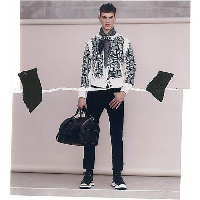 David Trulik by Louis Vuitton F/W 2015