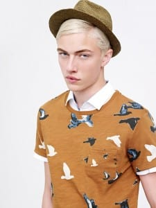 Lucky blue Smith for Selected summer 2015