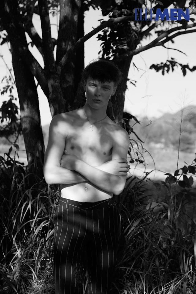 Piotr Kolan for Elle Men Thailand