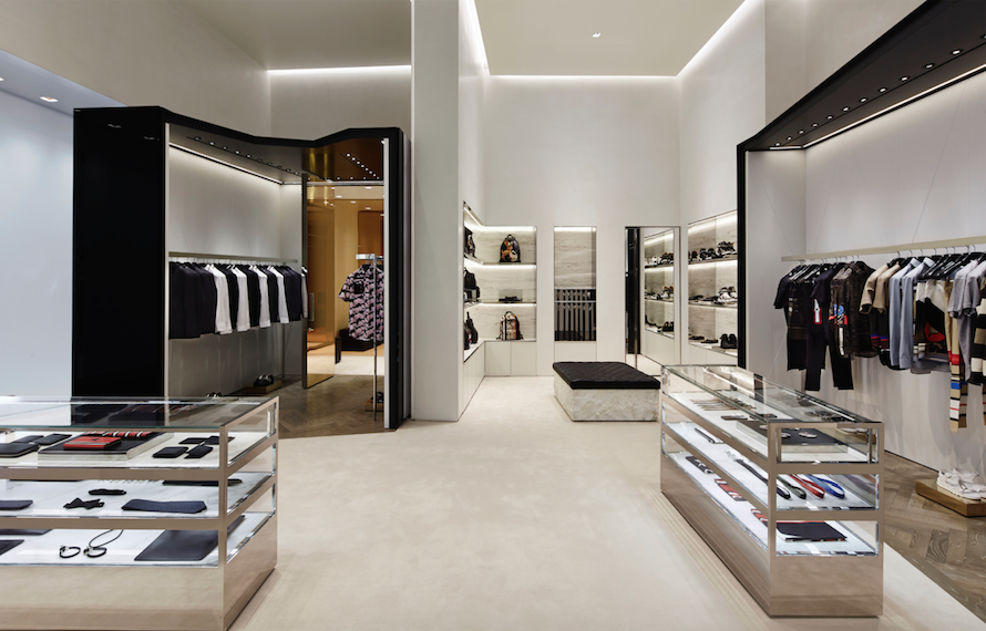 Givenchy remained focused on the Las Vegas and Miami stores in the U.S.