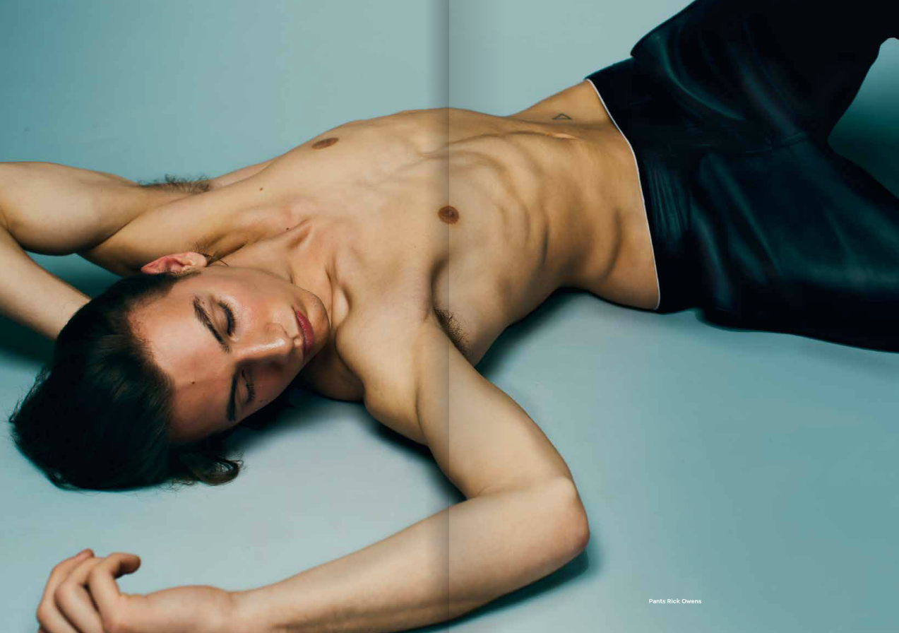 Tijn Vilanova by Ferry Van Der Nat for Vanity Teen S/S 2015 Issue
