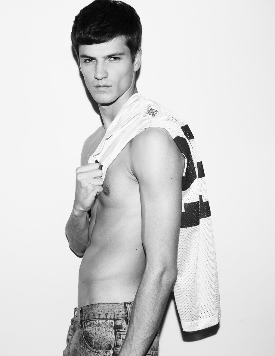 Vive La France: Tristan Tymen Elite Model Look Finalist