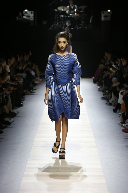 Clothing By Baking It In An Oven By Issey Miyake: ISSEY MIYAKE: Creative Technology