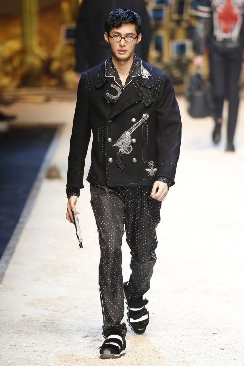 DOLCE & GABBANA FW 2016 Milan Fashion Week 2016-17 (26)
