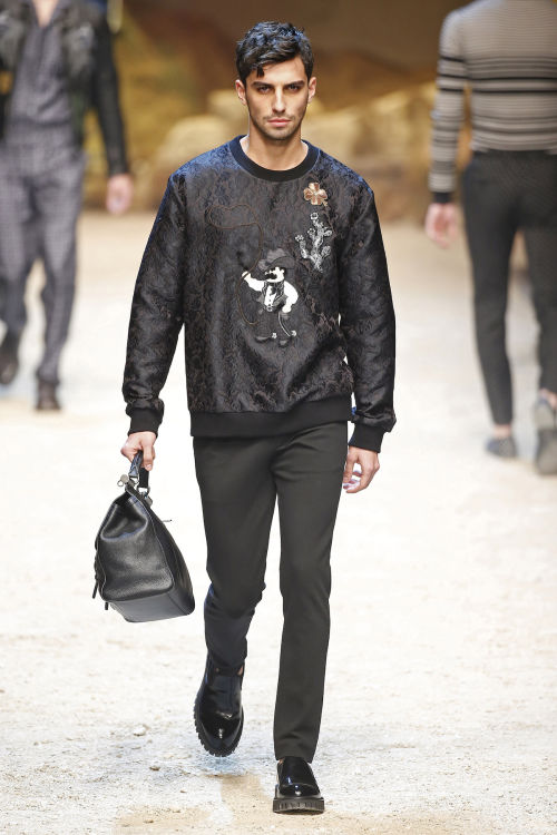 DOLCE & GABBANA FW 2016 Milan Fashion Week 2016-17 (34)