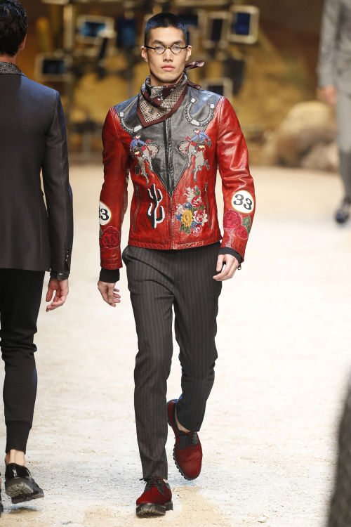 DOLCE & GABBANA FW 2016 Milan Fashion Week 2016-17 (71)
