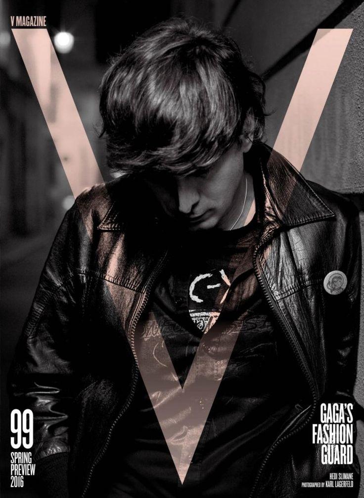Karl Lagerfeld & Hedi Slimane For V Magazine 99 (1)