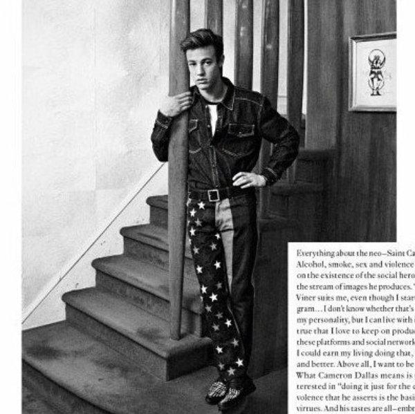 Cameron Dallas for Vogue Hommes Paris 2016 VT Mag (9)
