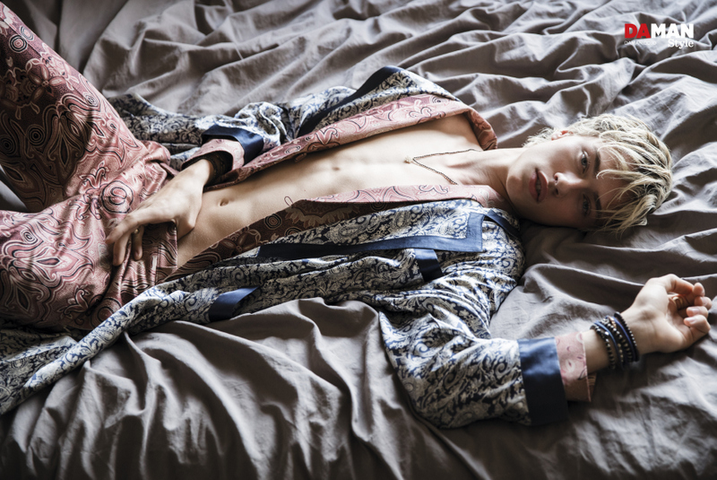 Pretty Shades Of Blue Lucky Blue Smith for Da Man Style SS16 (1)