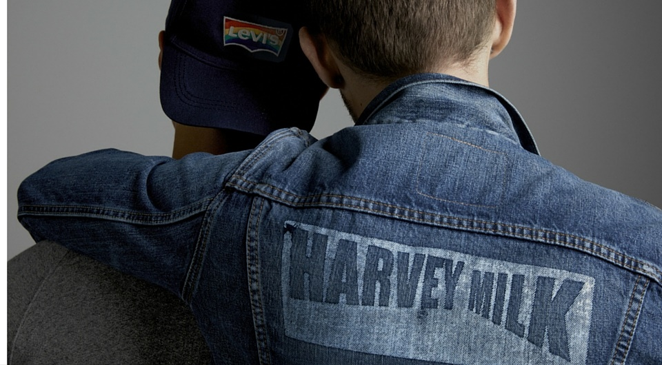 Levi's x Harvey Milk  Levi's x Harvey Milk Vanity Teen Menswear & new faces magazine