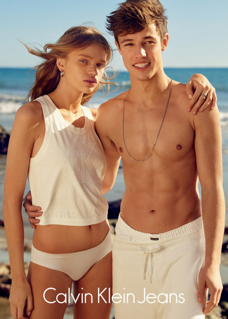 Cameron Dallas Lands His First Calvin Klein Jeans Campaign ...