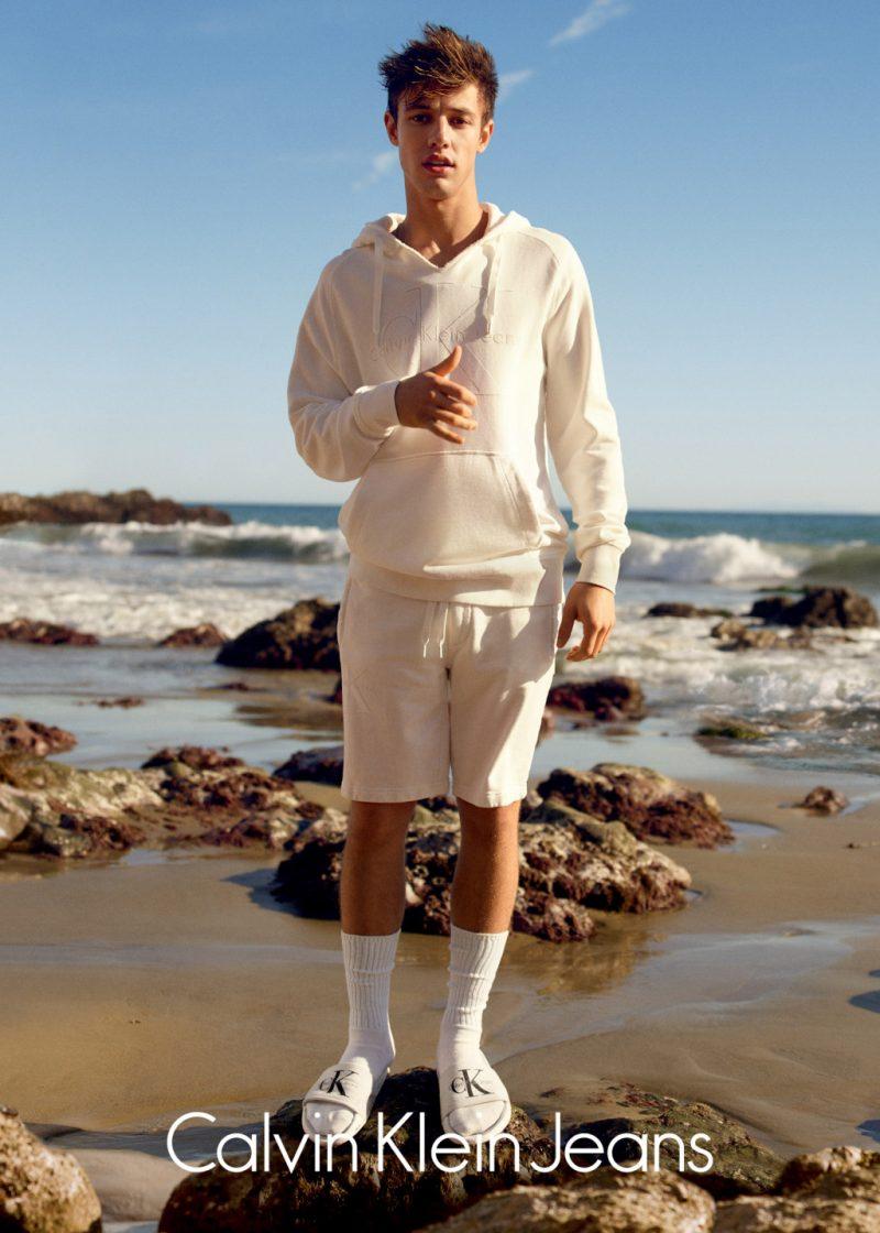 Cameron Dallas Calvin Klein Jeans SS 16 Campaign (5)