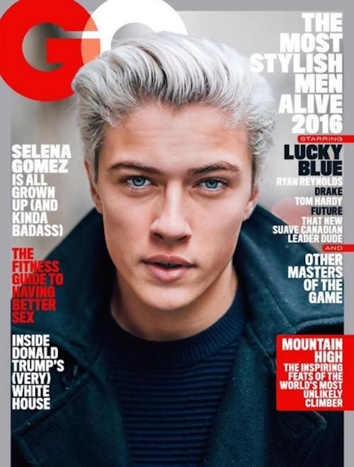 Lucky Blue Smith Fronts GQ May 2016 Issue
