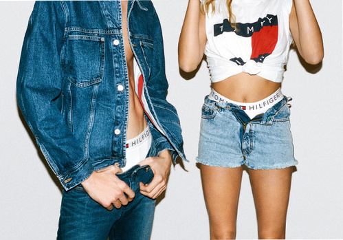 Tommy Jeans Campaign Lucky Blue Smith Hailey Baldwin VT Mag