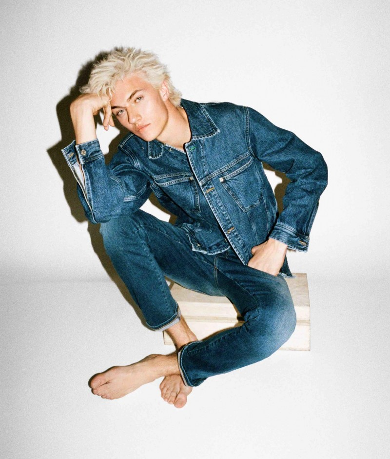 Tommy Jeans Campaign Lucky Blue Smith Hailey Baldwin VT Mag (1)