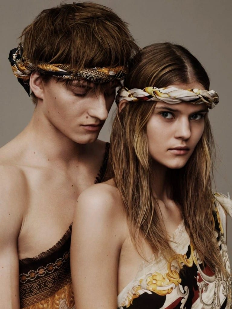 Versace-Scarves-2016-Campai