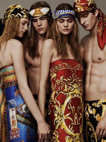 Versace Scarves 2016