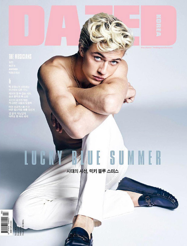 Lucky Blue Smith Covers Dazed & Confused Korea