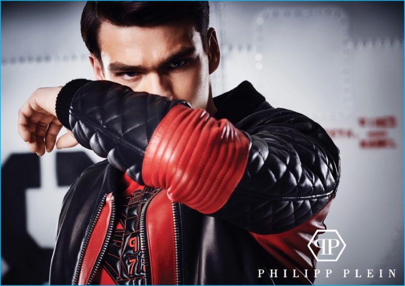 Filip Hrivnak for Philipp Plein Filip Hrivnak for Philipp Plein Vanity Teen Menswear & new faces magazine