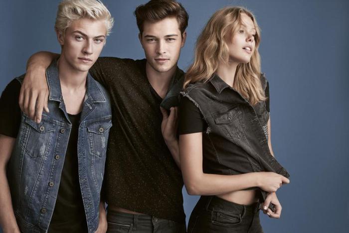 Lucky Blue Smith for Mavi lookbook Lucky Blue Smith for Mavi lookbook Vanity Teen Menswear & new faces magazine