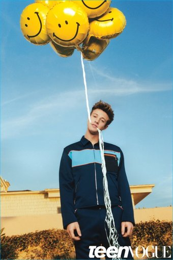 Cameron Dallas covers Teen Vogue
