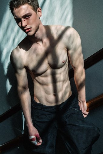 Max at Alpha Male Model by Tatchatrin Choeychom