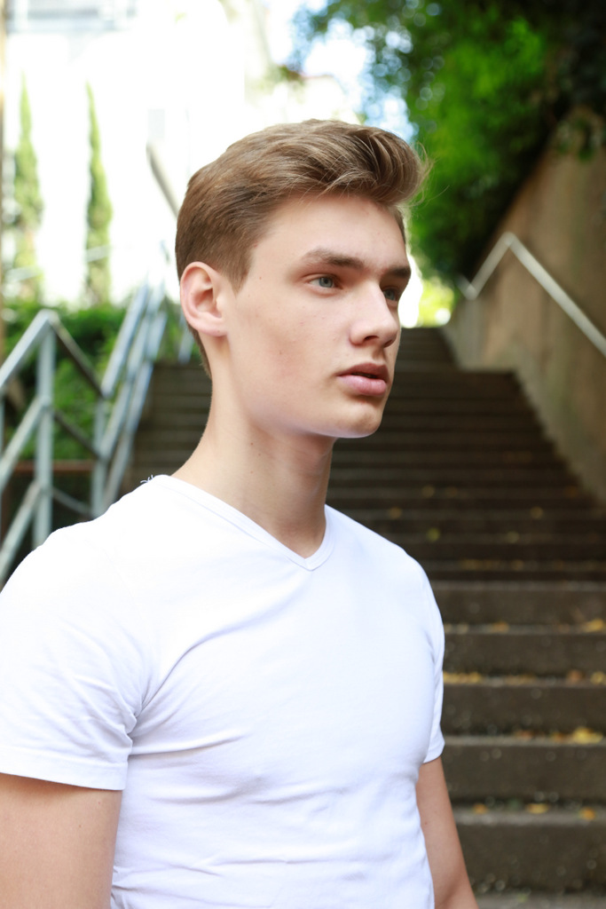 Daniel C. at S Models Model Management by Robert E (7)