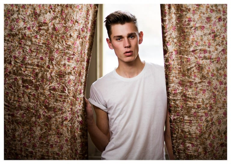 Xavier Cook at 20 Model Management by Neil Roberts