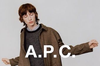 A.P.C 2016 A.P.C 2016 Vanity Teen 虚荣青年 Menswear & new faces magazine