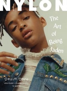 Jaden Smith for Nylon magazine