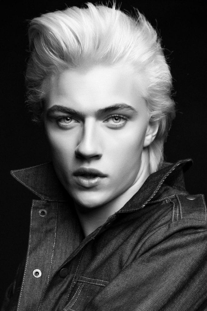 Lucky Blue Smith for Nylon magazine — Vanity Teen