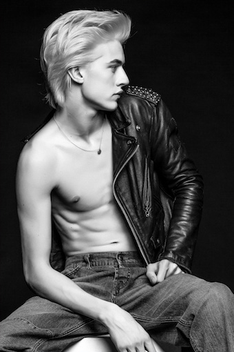 Lucky Blue Smith for Nylon magazine