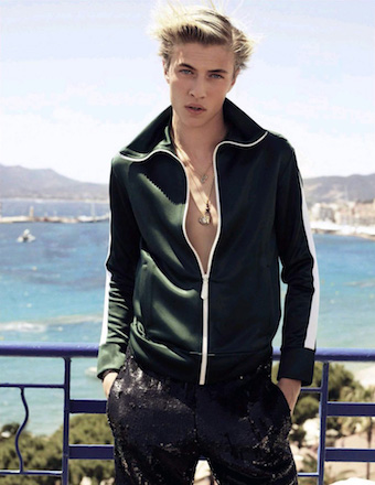 Lucky Blue Smith for Vogue Spain