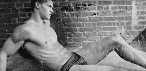 Versace Dylan Blue Campaign by Bruce Weber