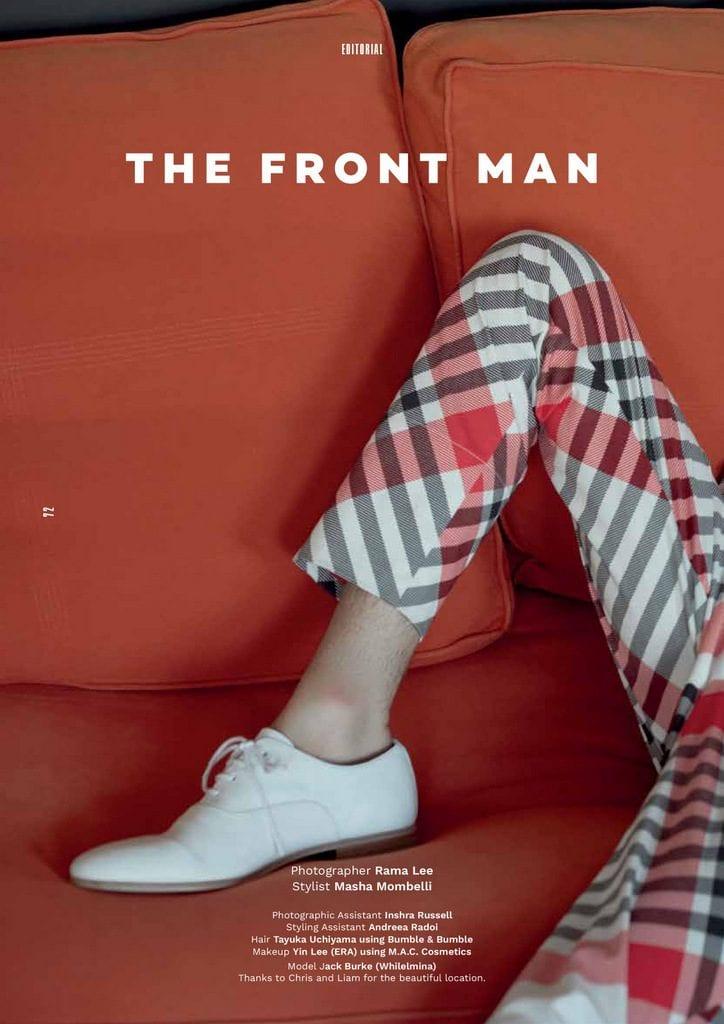 The Front Man by Rama Lee The Front Man by Rama Lee Vanity Teen 虚荣青年 Menswear & new faces magazine