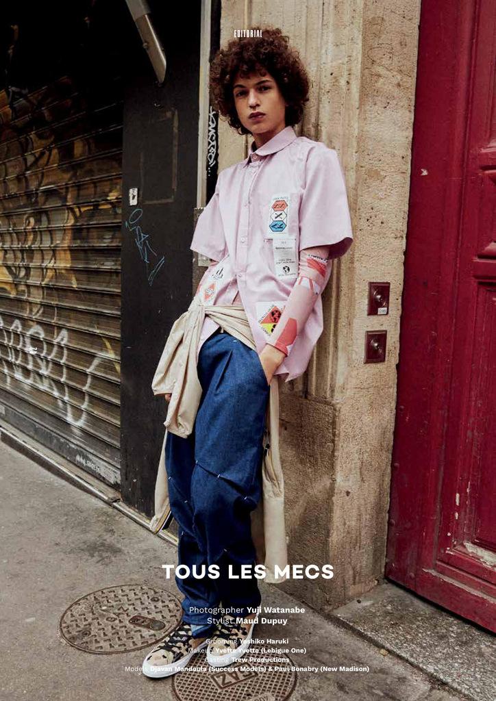 Tous Le Mecs by Yuji Watanabe VT8 SS16 (1)