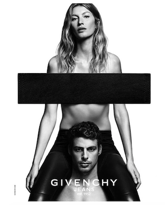 Gisele Bündchen and Cauã Reymond for the new Givenchy campaign