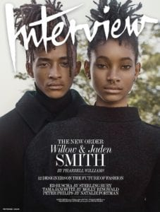 Interview Magazine: WILLOW AND JADEN