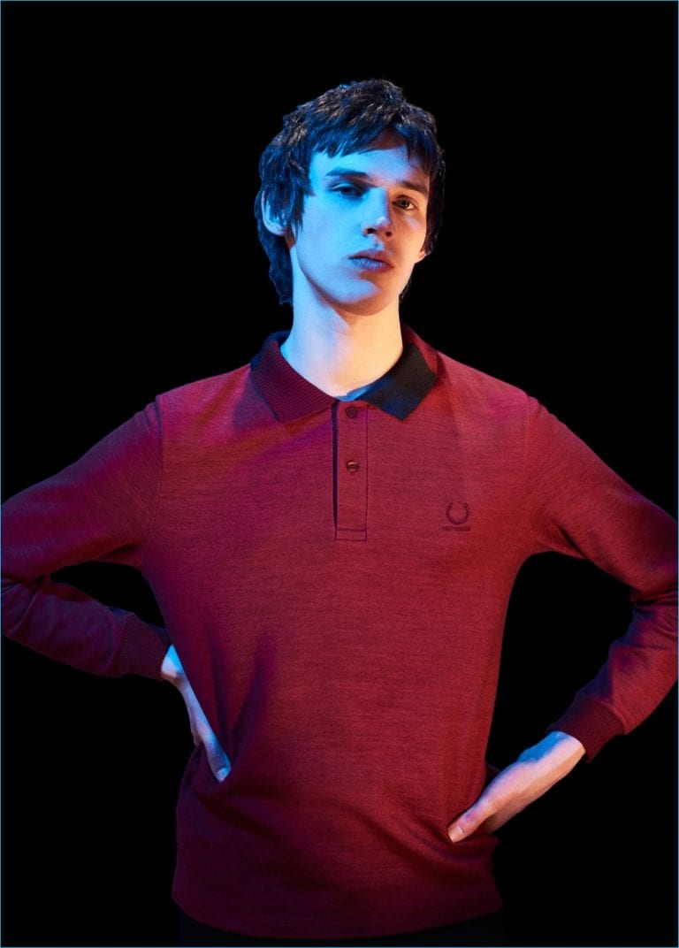 Raf Simons with Fred Perry F/W 2016