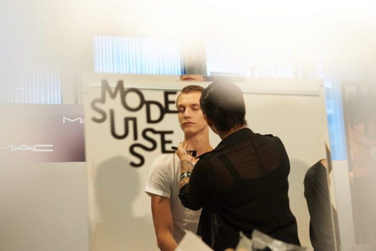 Backstage At Mode Suisse