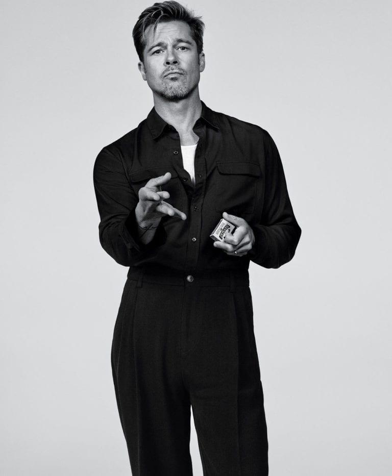 Brad Pitt for T Magazine