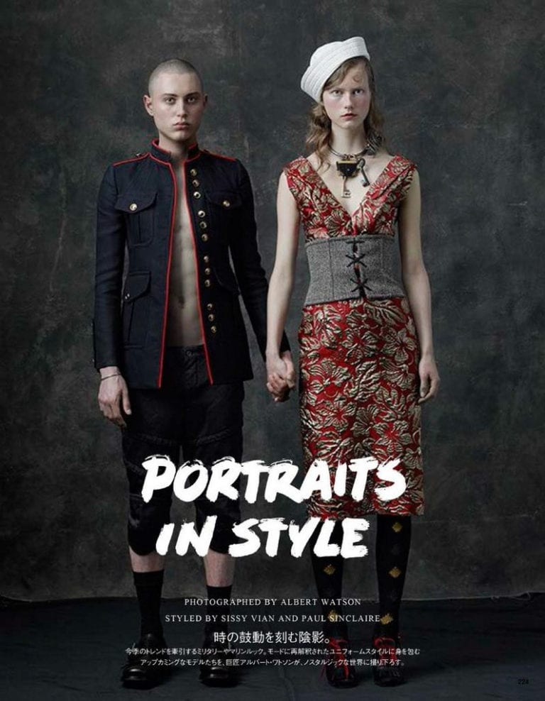 Vogue Japan Portraits In Style