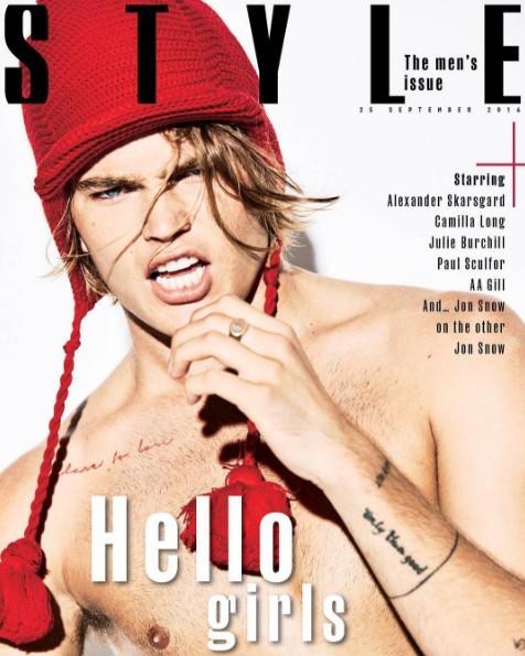 Jordan Barrett for Sunday Times Style Magazine