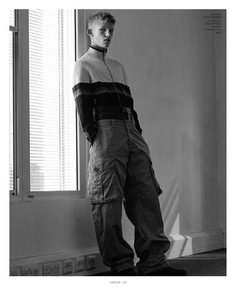 Connor Newall by Charlotte Hadden for Varón Magazine