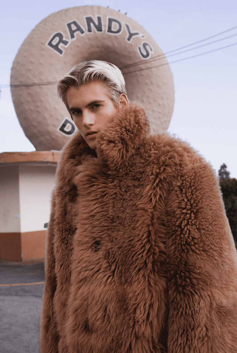 "Presley Gerber stars in ODDA Magazine ""Spaces"" Issue"