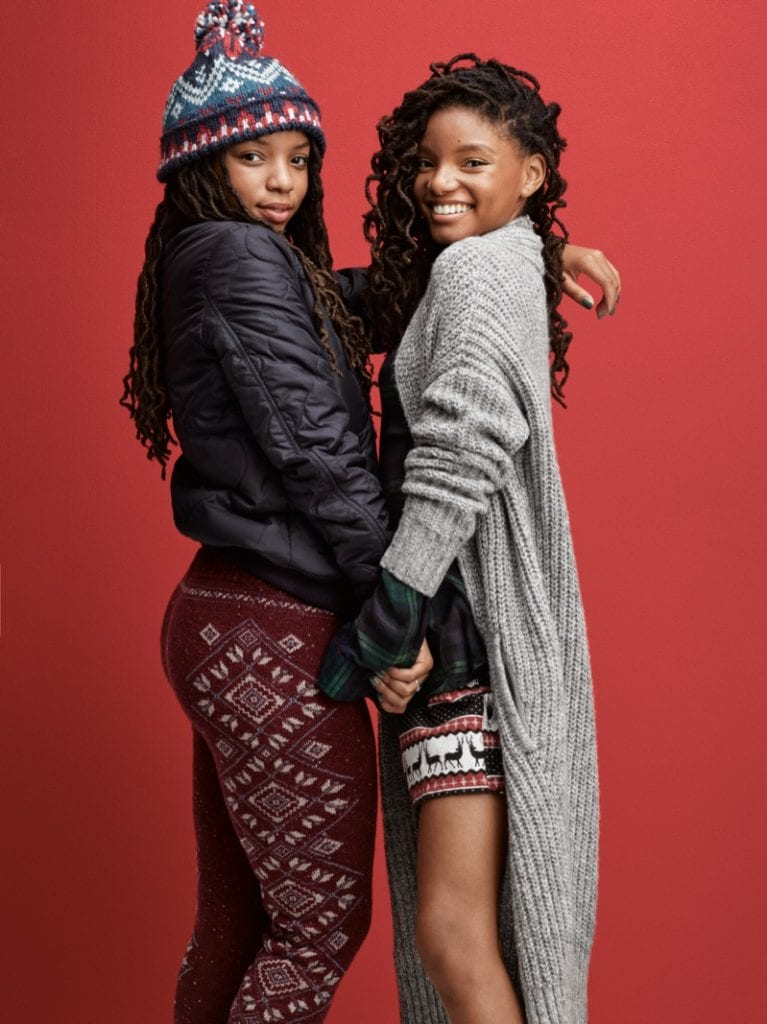 #WeAllCan American Eagle Holiday campaign — Vanity Teen