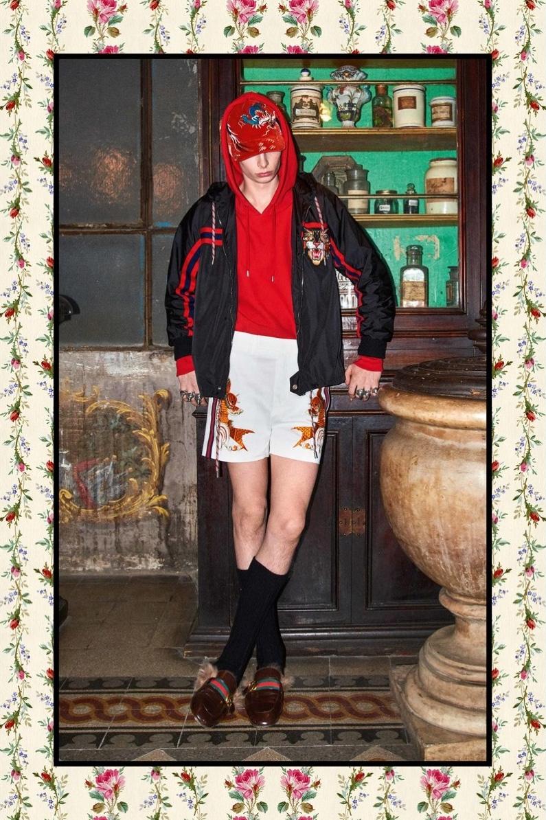 GUCCI Pre-Fall 2017 GUCCI Pre-Fall 2017 Vanity Teen 虚荣青年 Menswear & new faces magazine