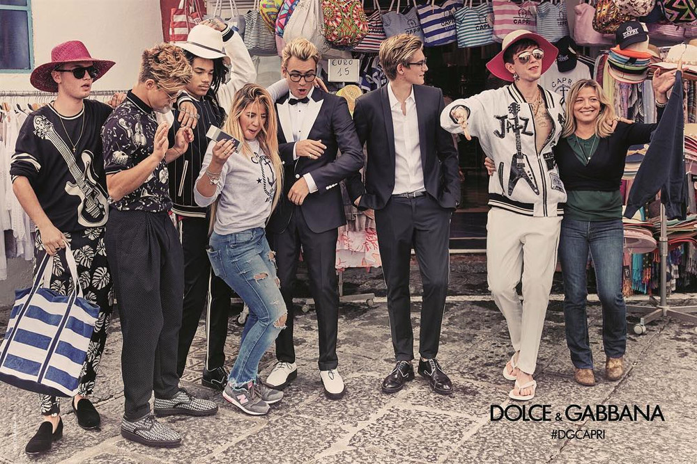Dolce & Gabbana S/S 2017 Dolce & Gabbana S/S 2017 Vanity Teen 虚荣青年 Menswear & new faces magazine