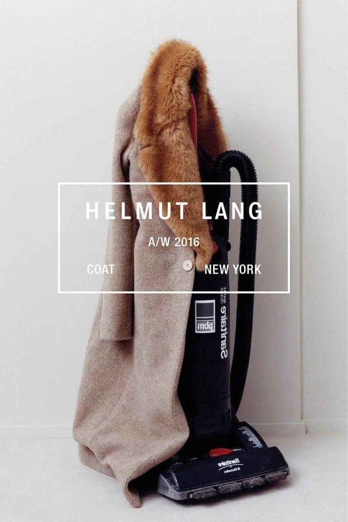 Helmut Lang F/W 2016 Helmut Lang F/W 2016 Vanity Teen 虚荣青年 Menswear & new faces magazine