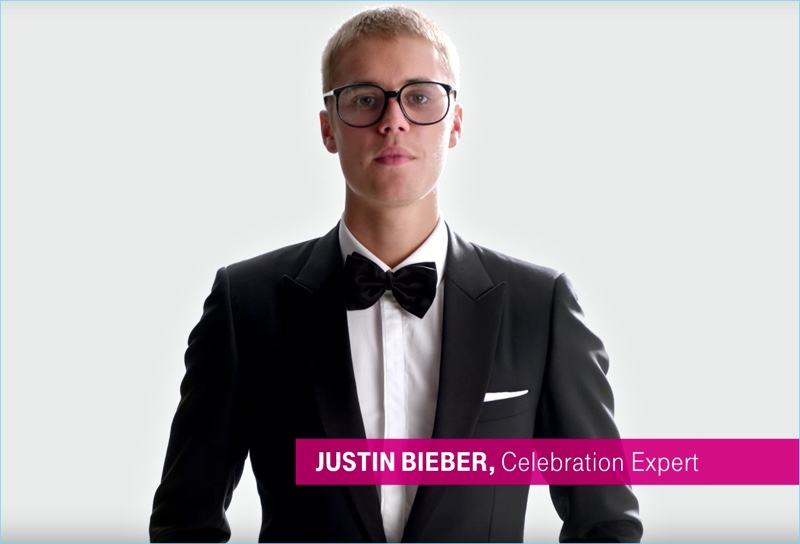 Justin Bieber for T-Mobile commercial Justin Bieber for T-Mobile commercial Vanity Teen 虚荣青年 Menswear & new faces magazine